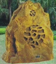 Loa sân vườn giả đá OBT 1802D hình núi đẹp ấn tượng