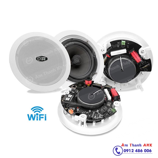 Các mẫu loa âm trần bluetooth wifi ko dây cực hay tại Hà Nội HCM