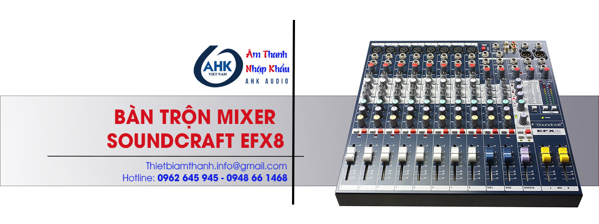 ban tron am thanh mixer soundcraft efx8 gia re chat luong tot nhat ha noi